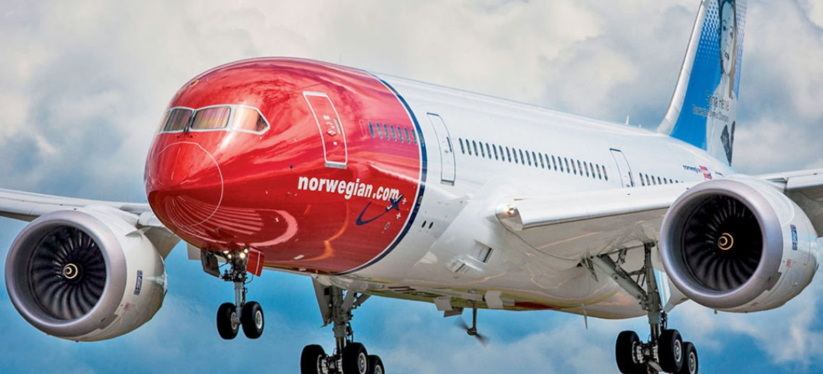 Norwegian volerà low cost <br>dall'Italia all'Argentina