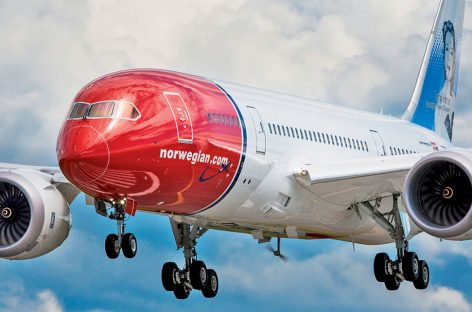 Norwegian raddoppia su Parigi e vola Orly-New York