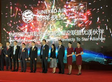 Con Juneyao Airlines sempre più Asia in Star Alliance