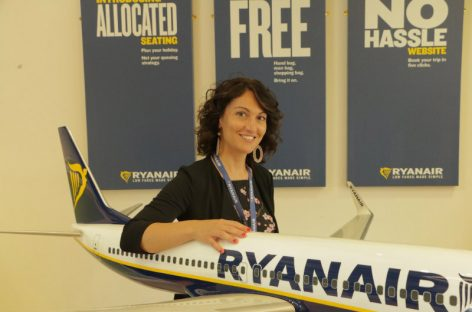 Ryanair, Chiara Ravara nuovo sales & marketing manager