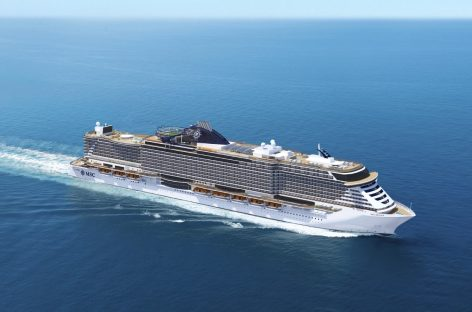 Float out per Msc Seaview, in mare a giugno