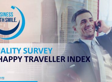 Cisalpina monitora i viaggi d'affari con Happy Traveller Index