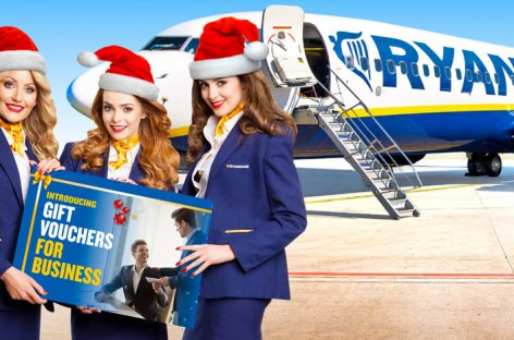 Ryanair lancia i voucher regalo Business