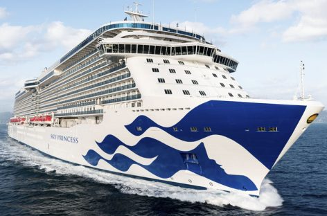 Arriva Sky Princess, la quarta nave Royal di Princess Cruises