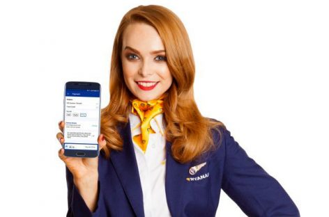 Ryanair, adesso l'app Android supporta Google Pay
