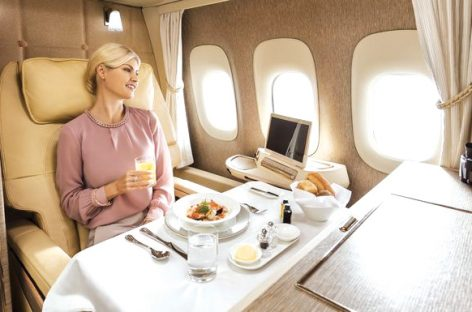 E ora suite private sui Boeing Emirates