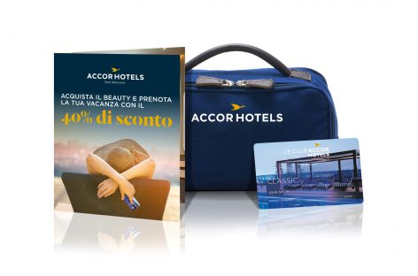 E ora Accor vende su Amazon i beauty case con sconti vacanze