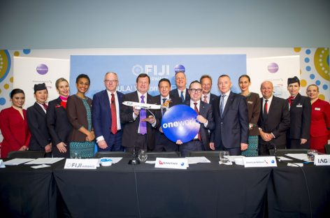 Oneworld, con Fiji Airways nasce il servizo Connect