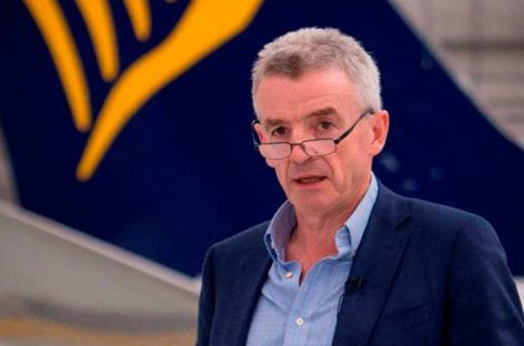 Il ceo di Ryanair Michael O'Leary debutterà a Wtm Virtual 2020