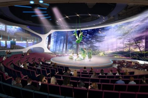 Celebrity Edge adesso svela l'ipertecnologico The Theatre