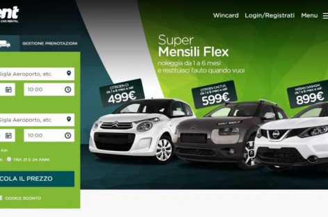 Leasys-Fca Bank acquisisce il 100% di WinRent