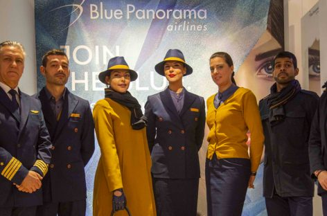 Blue Panorama cambia look: le nuove divise