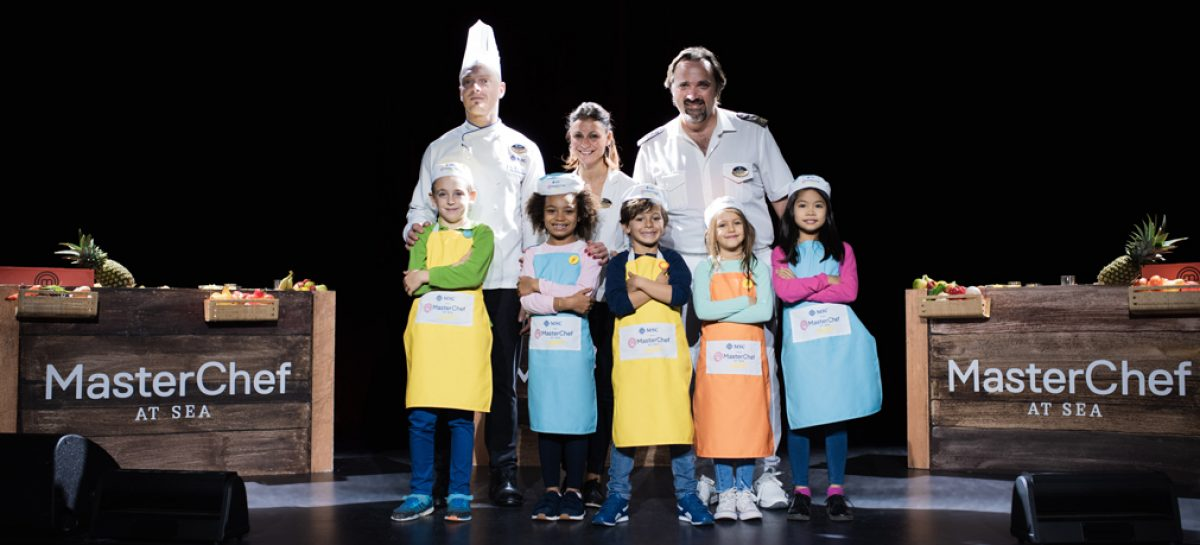 Msc Crociere, i piccoli MasterChef si sfidano a bordo