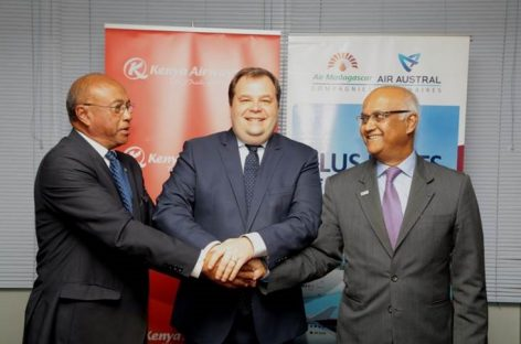 Air Madagascar si allea con Air Austral e Kenya Airways