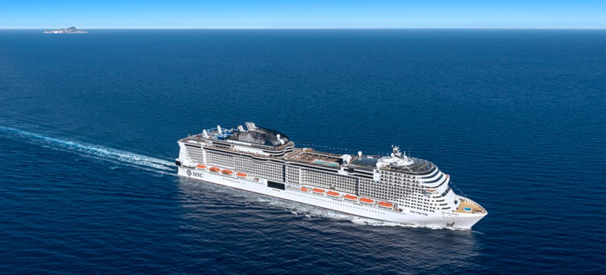 Msc Crociere, float out di Grandiosa che salpa a novembre