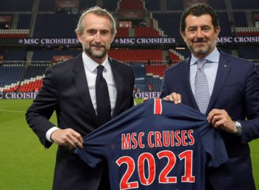 Msc Crociere sponsor ufficiale del Paris Saint-Germain