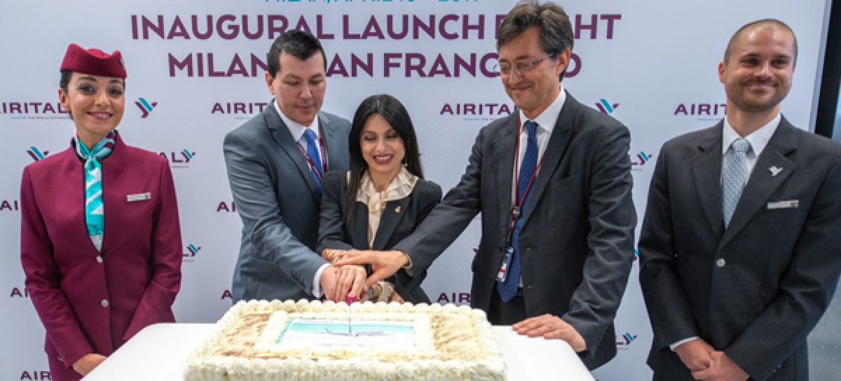 Air Italy inaugura il no stop Milano-San Francisco