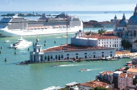 Venezia guida la top five dei porti nell'Adriatic See Tourism Report