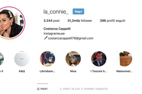 L'influencer La Connie: «Così ho conquistato Instagram»