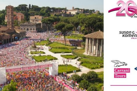 Carrani Tours in prima fila a Race for the Cure