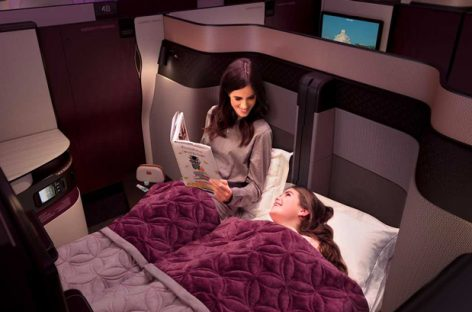 Qatar Airways, a Malpensa arriva la Qsuite di business class