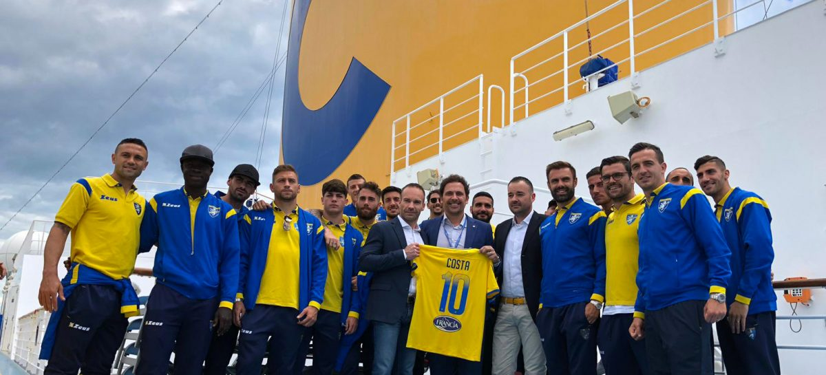 Costa porta il Frosinone Calcio in crociera con il geomarketing