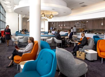 Lounge nuova di zecca a Washington per Air France