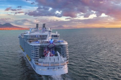 Rccl, restyling per Allure of the Seas prima del ritorno in Europa