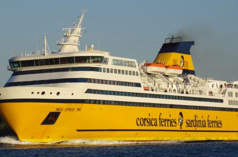 Il Jazz sale a bordo di Corsica Sardinia Ferries