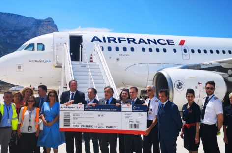 Air France riapre la rotta Palermo-Parigi per l'estate