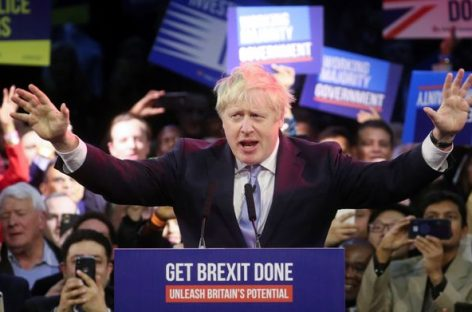 Elezioni Uk, trionfa Boris Johnson: «Ora la Brexit»