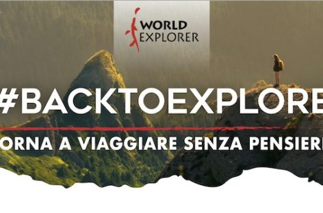 World Explorer riparte dalla campagna promozionale #backtoexplore