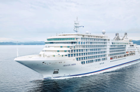 Silversea, superate le prove in mare per Silver Moon