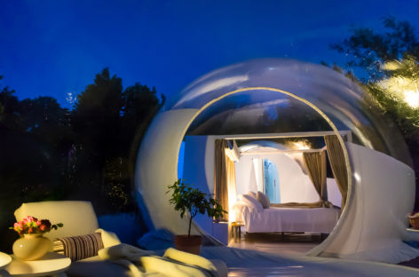 Bubble Emotion, la nuova frontiera del glamping