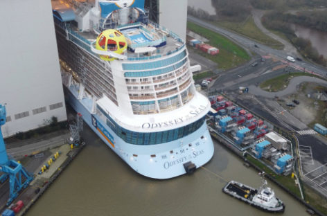 Royal Caribbean, in primavera l'esordio di Odyssey of the Seas