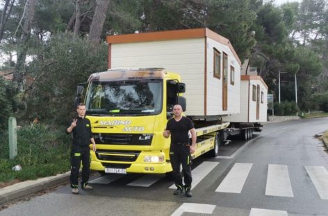 Croazia, Baia Holiday dona le mobile homes per le zone colpite dal sisma